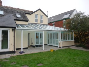 conservatory extension cardiff beacon architectural services brecon wales