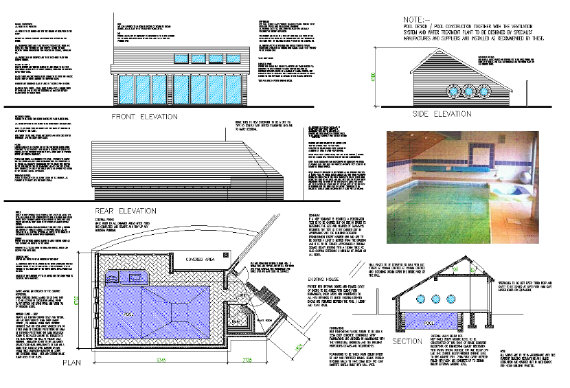 swimming pool cardiff beacon architectural services