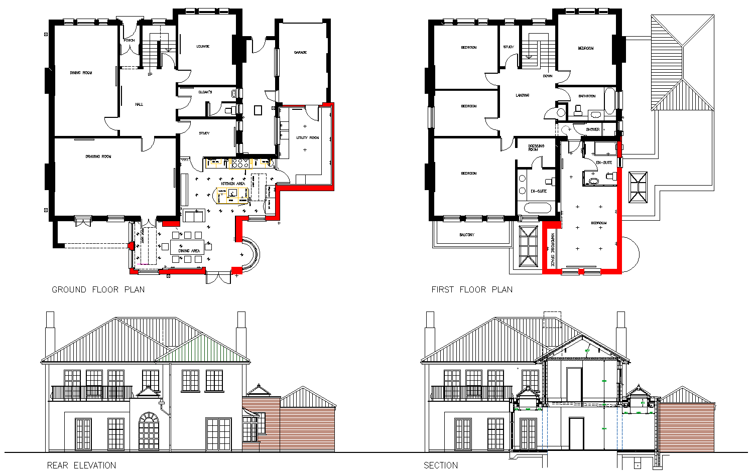 Extension and alteration cardiff beacon architectural services